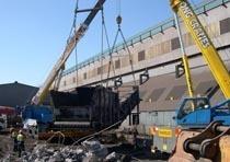 Демонтаж конструкций из металла в Екатеринбурге