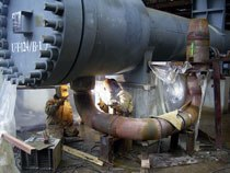 Ремонт металлических конструкций и изделий в Екатеринбурге, металлоремонт г.Екатеринбурге